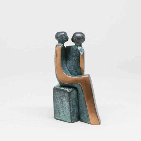 "Bronzeskulptur ""Tosomhed"""